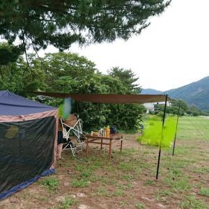 天然ウナギを堪能!琵琶湖でデイキャンプ