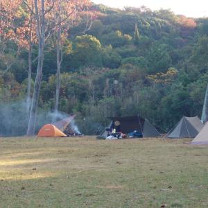 東かがわ市にある無料キャンプ場「田の浦野営場」2日目