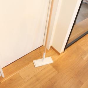 おすすめ!無印良品掃除システム【木製ポール】がリニューアル♡モップ&マイクロファイバークロスで床掃除