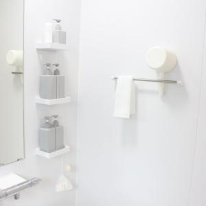 買ってよかった【無印良品】×【山崎実業towerシリーズ】で浴室をシンプルに美しくするおすすめ収納