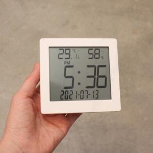これ1個で全部ある!DAISO(ダイソー)の「デジタル温湿度計」は無印良品好きの方におすすめです。