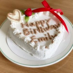 大満足のケーキ