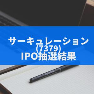 サーキュレーション(7379)のIPO抽選結果