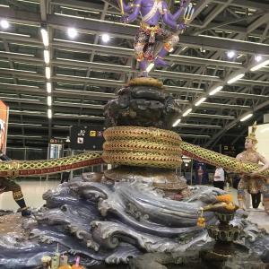 バンコク・スワンナプーム国際空港からこんにちは