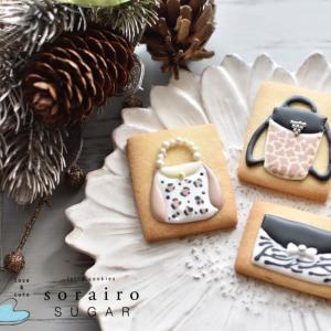 【レポ】JSAアイシングクッキー認定講師講座②はアニマル柄で自分のデザインバッグ作り♪