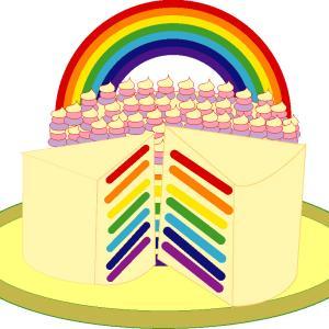 カラージェルでスポンジケーキを着色するのはOK?NG?