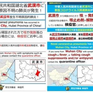 【速報】国内3人目コロナ感染。武漢市民「私は関係ないから日本行くニダ」 病院「おまえ、感染しとるやないかい」 武漢市民「・・・弁護士を呼べ」」