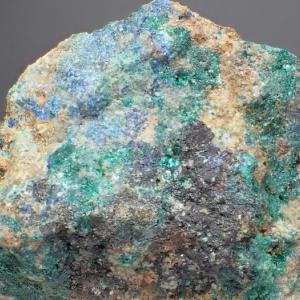 尾去沢の藍銅鉱など  Azurite etc. from Osarizawa