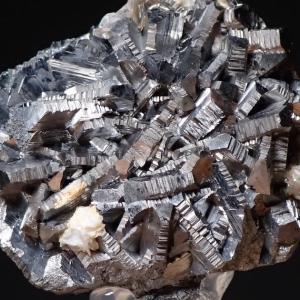 ヤオガンシャンの硫砒鉄鉱 Arsenopyrite from Yaogangxian