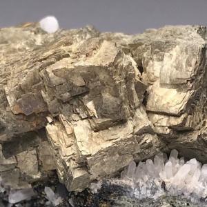 曲面を有する黄鉄鉱 Pyrite with Curved Surfaces
