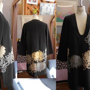 着物リメイク 黒留袖の新しいアイテム