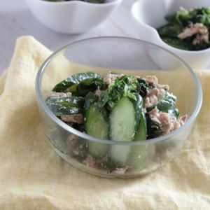 【レシピ】きゅうりとツナの夏サラダ