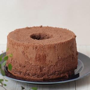 作り置きおやつに◎米粉のココアシフォンケーキは冷凍できる!