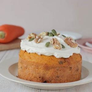 米粉レシピ:人参たっぷり♪キャロットケーキ