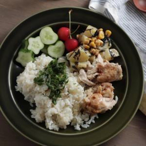 一週間頑張った金曜日は【炊飯器で作る。タイ風カオマンガイ】