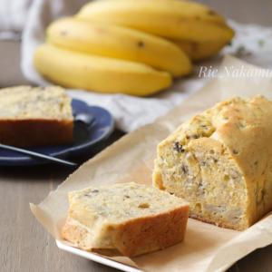 米粉でもしっとりなバナナブレッドの秘訣♪