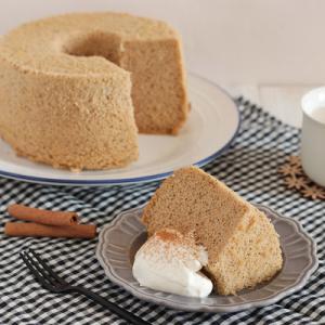 【レシピ掲載】ふわふわ♪香り豊かなチャイシフォンケーキ