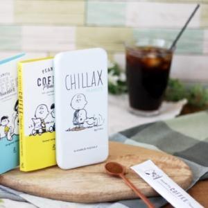 スヌーピー コーヒー シリーズから、缶ケース入り「アイスコーヒー」新発売!