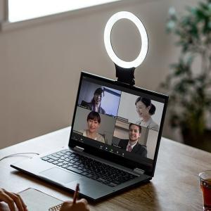 スマホ&パソコン用LEDリングライト