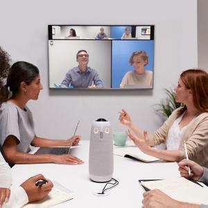 発言者を自動フォーカスする会議室用webカメラ「ミーティングオウル プロ」