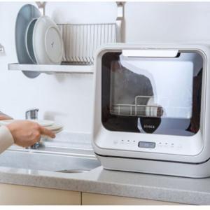 食器洗い乾燥機はタンク式が置き場所と工事問題を解決
