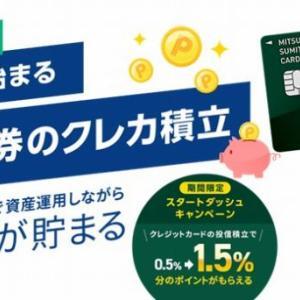 三井住友カードがSBI証券とクレジットカード決済による投信積立サービスを開始