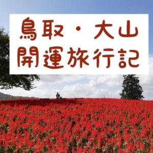 運気アップ!金持神社と大山・とっとり花回廊の旅