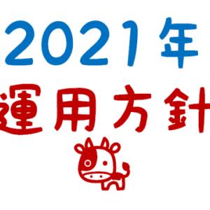 2021年の運用方針