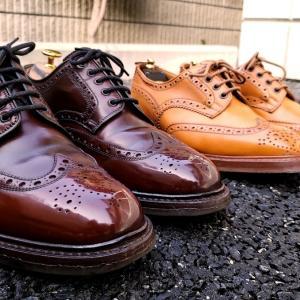 フルーブローグの革靴の魅力