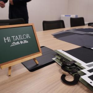 スマホだけでスーツやシャツをオーダーできる!Hi TAILOR(ハイテーラー)に行ってきました。