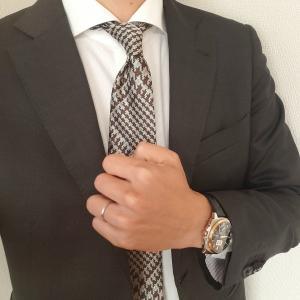 【ORIHICA】ブラウンカラーのスーツを使ったコーディネートをしてみた!
