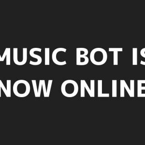 Discordの音楽bot達が復活