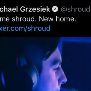 人気ゲーマーShroudがTwitchを離れMixerへ