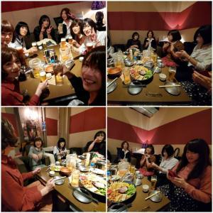 2019秋の大阪女子会…お食事会