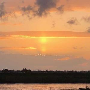 太陽が無い空に太陽を浮かび上がらせ神様自身が天の父母様の呼称の欺瞞を訴えてくれた!