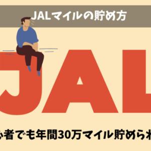 【陸マイラー直伝】JALマイルの貯め方 年間で30万マイル以上貯めるおすすめの裏ワザ