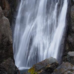 安倍の大滝 スリル満点な吊り橋を越えてオクシズの名瀑を観に行こう(静岡県静岡市)