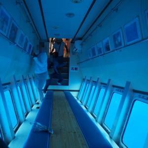 与那国島旅行記【11】グラスボートで行く!海底遺跡(海底地形)ツアー