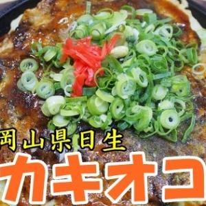 冬の風物詩!日生のカキオコを3月に食べに行った!(泉富久@岡山県備前市)