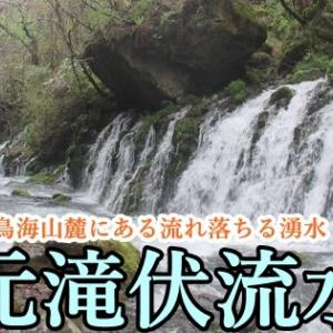 鳥海山麓で湧き出す神秘的な滝、元滝伏流水 駐車場・アクセス情報も紹介(秋田県にかほ市)
