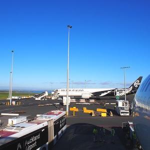 旅行記 5月のニュージーランド【1-1】ニュージーランド航空でオークランドへ