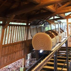 面不動鍾乳洞はモノレールに乗って向かう楽しい鍾乳洞!(奈良県天川村)