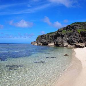 与那国島旅行記【7】アクセス困難な秘境ビーチ、六畳ビーチ