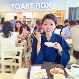 女だけど男装着物で海外旅行!シンガポールでなぜか神戸ルミナリエ。【シンガポール編】