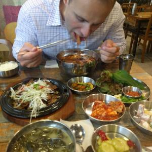 韓国スタバ/韓国料理/プロ妻に出会う