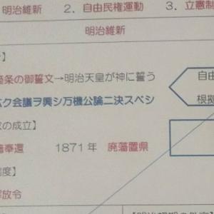 塾の授業実況中継(歴史⑥)