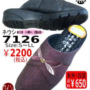 素足で履くと暖かい♪ ネウシ7126
