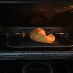 パンをヘルシオでトースト トースト機能も優秀です