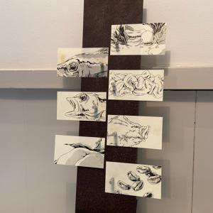 【金沢】Installation Table ENSO L'asymetrie du calme  五感で楽しむ前衛的なフレンチ