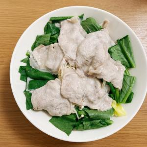 ヘルシオで低温調理 薄切り肉の野菜たっぷり蒸し豚【超簡単レシピ】